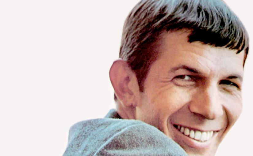 Goodbye, Mr. Spock.